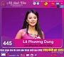 Hãy nhắn tin bình chọn cho sinh viên Lê Phương Dung tham dự vòng chung kết VMU 2016